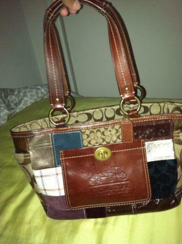 Coach Patchwork Gallery Tote | eBay