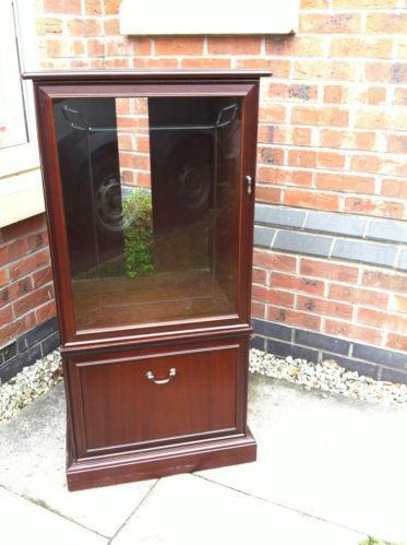 Wooden Hi Fi Cabinet Ebay
