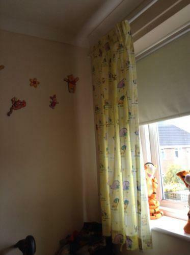 Winnie The Pooh Curtains Ebay