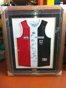 AFL Signed Framed Jumpers