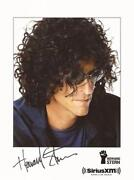 Howard Stern Signed