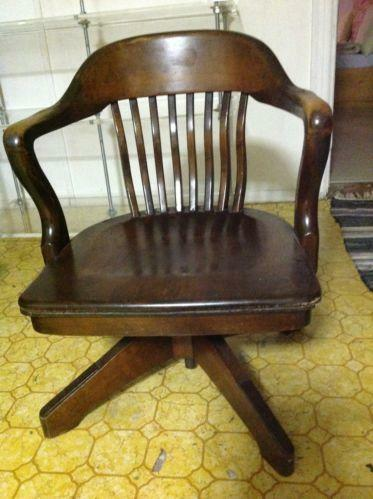 vintage swivel chairs antique swivel chair ebay 3259