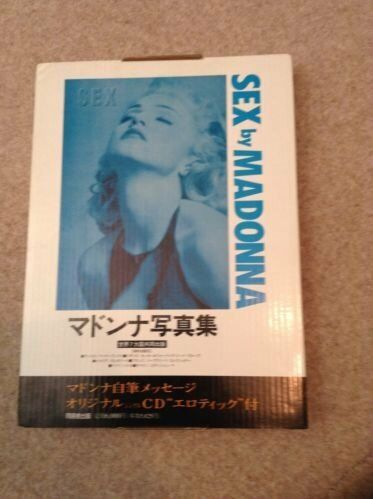 madonna sex japanese edition