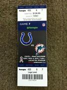 Andrew Luck Ticket