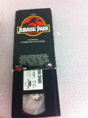 jurassic park vhs ebay
