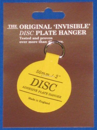 : invisible disc adhesive plate hangers - Pezcame.Com