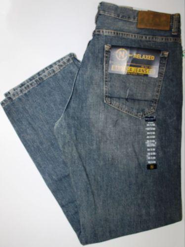 Mens Bootcut Black Jeans