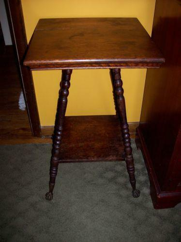 Antique Spindle Leg Table Ebay