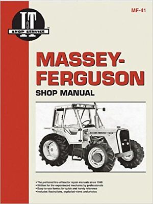 Massey-Ferguson MF670, MF690 & MF698 I&T Shop Manual MF41