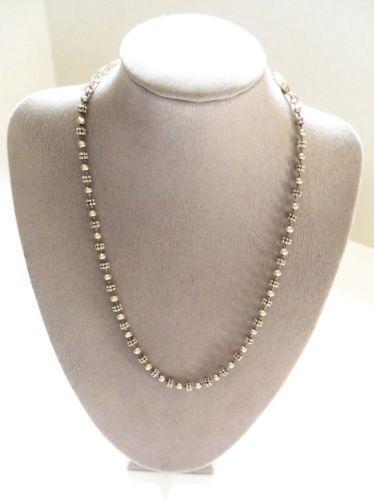 Napier Silver Necklace Ebay