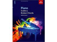 ABRSM Piano Scales and Broken Chords Grade 1