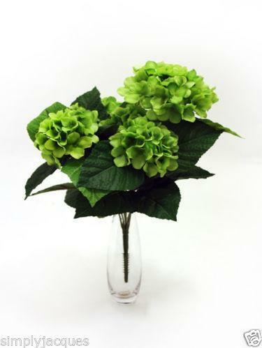 artificial hydrangea ebay. Black Bedroom Furniture Sets. Home Design Ideas