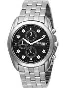 Men's Black Dial Bulova Watch