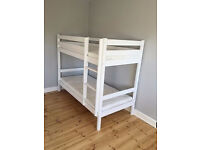 BRAND NEW SOLID PINE BUNK BEDS FLAT PACK. BOXED. FREE DELIVERY IN BOURNEMOUTH