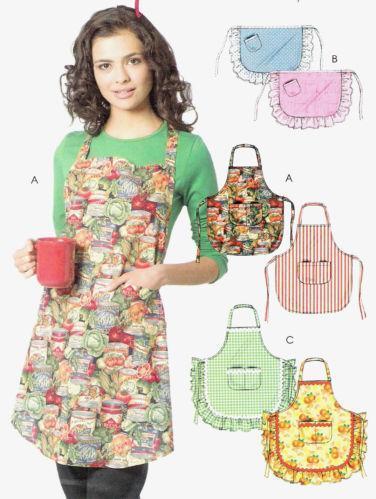 Vintage Apron Pattern Ebay