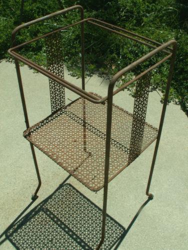 Vintage Iron Patio Furniture EBay