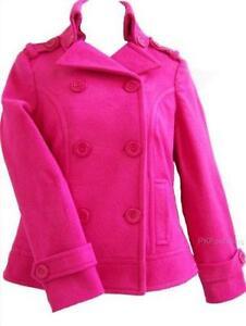 daf7e4fa Girls Pea Coat   eBay