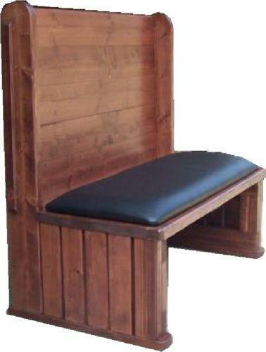 Wood Restaurant Booth Ebay