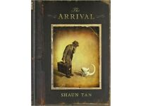 The Arrival by Shaun Tan - comics award winning beautiful graphic novel perfect comics lover gift
