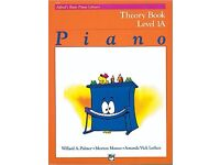 Grade 1 Piano Tutorial Books. 5 books: Lessons, Recital, Theory and Sight-Reading.