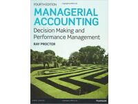 Managerial Accounting: Decision Making and Performance Improvement 4 ed ISBN0273764489 Ray Proctor