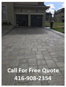 ★ ​★ ​★ Oshawa Interlock Sealing Services - 416-908-2354