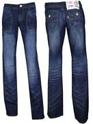Stretch Straight Leg Jeans