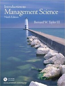 Introduction to Management Science (9th Edition)