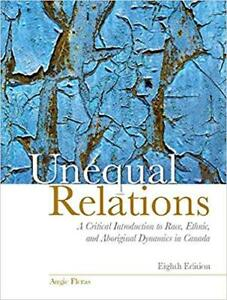 Unequal Relations 8th Edition by Augie Fleras