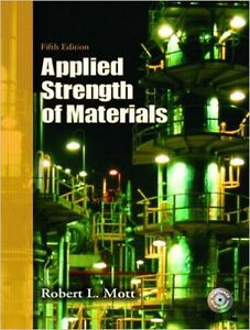 Applied strength of materials- 5th Edition Kitchener / Waterloo Kitchener Area image 1