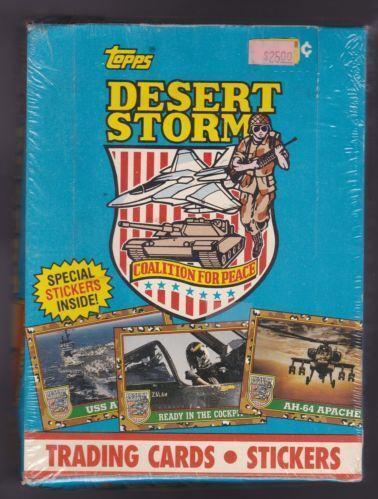 c788ac10076 Desert Storm Trading Cards