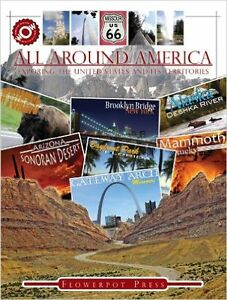 All Around America Hardcover Book