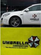Resident Evil Car Decal