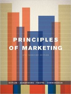 MSVU Text Book Principles of Marketing 9th edition