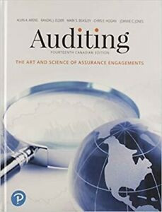 Auditing The Art and Science of Assurance Engagements, 14th Ed