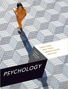 Psychology 4th Canadian Edition by Wade, Tavris, Saucier & Elias