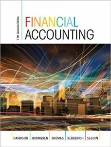 Financial Accounting, Fifth Canadian Edition PERFECT CONDITION