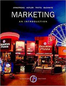 Marketing: An Introduction 6th Canadian Edition