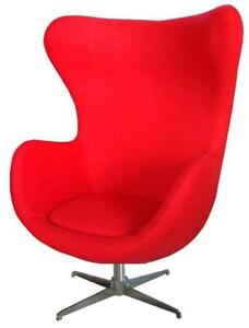 Attrayant Red Egg Chairs