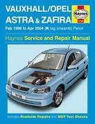 Vauxhall Astra Haynes Manual