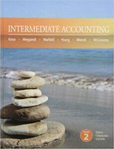 Intermediate Accounting 10th Edition Hardcover by Kieso et al.