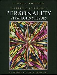 Personality: Strategies and Issues 8th edition