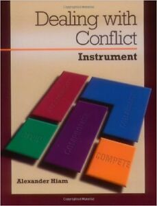 Dealing With Conflict - by Alexander Hiam - (Brand New)