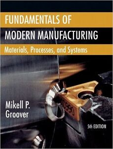 Fundamentals of Modern Manufacturing 4th Edition Cambridge Kitchener Area image 1