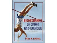Biomechanics of Sport and Exercise 2nd edition. Hardcover student book.
