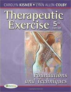 Therapeutic exercise 5th edition