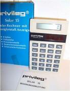Taschenrechner Privileg