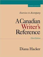 A Canadian Writer's Reference (Third Edition)