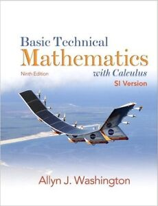 Basic Technical Mathematics with Calculus 9th Edition