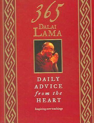 365 Dalai Lama : Daily Advice from the Heart, Paperback by Dalai Lama XIV,